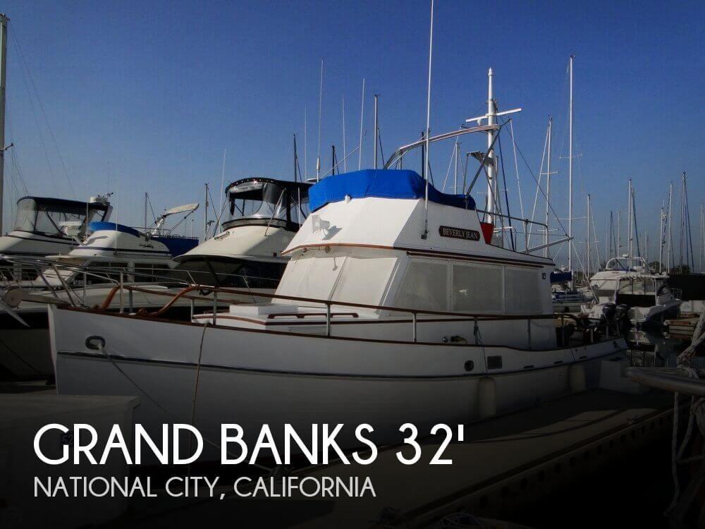 1969 Grand Banks 32 Sedan - Photo #1