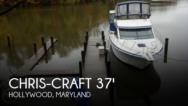 Used 1990 Chris Craft 372 Catalina For Sale