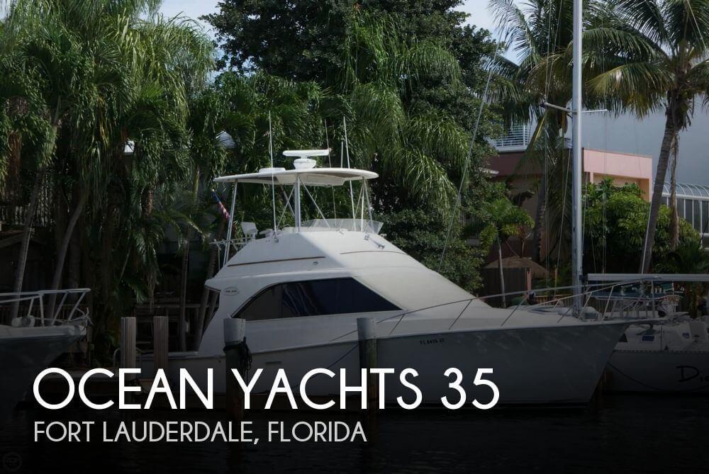 1991 Ocean Yachts 35 - Photo #1