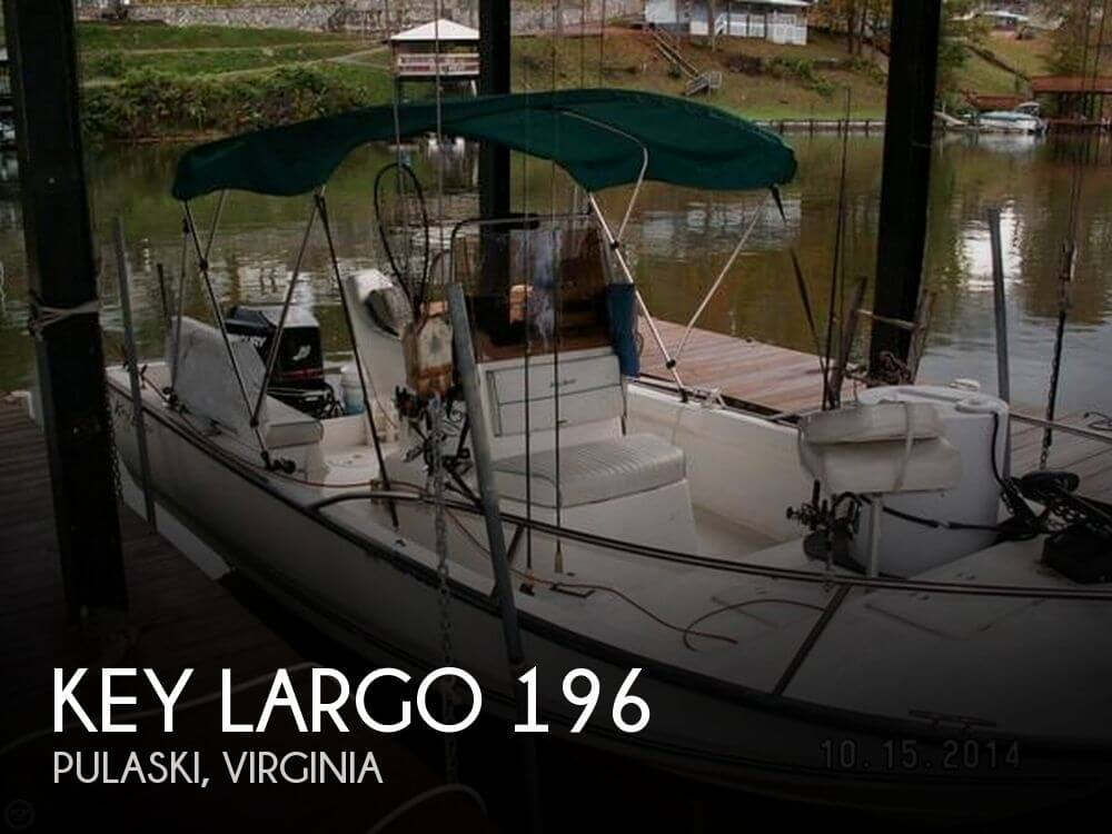 Used Key largo Boats For Sale by owner | 2006 Key Largo 19