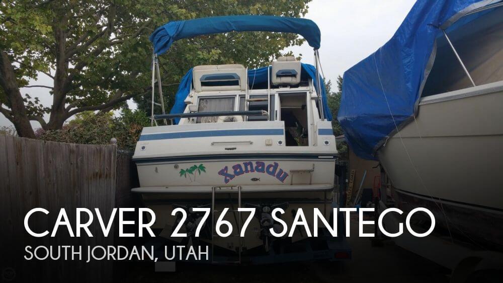 1989 CARVER 2767 SANTEGO for sale