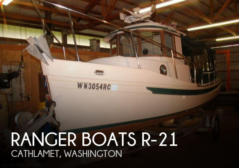 1993 RANGER BOATS R 21 for sale