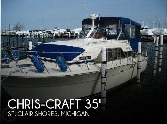 1986 Chris-Craft Catalina 350 - Photo #1