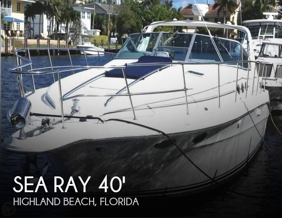 1994 Sea Ray 400 Express Cruiser - Photo #1