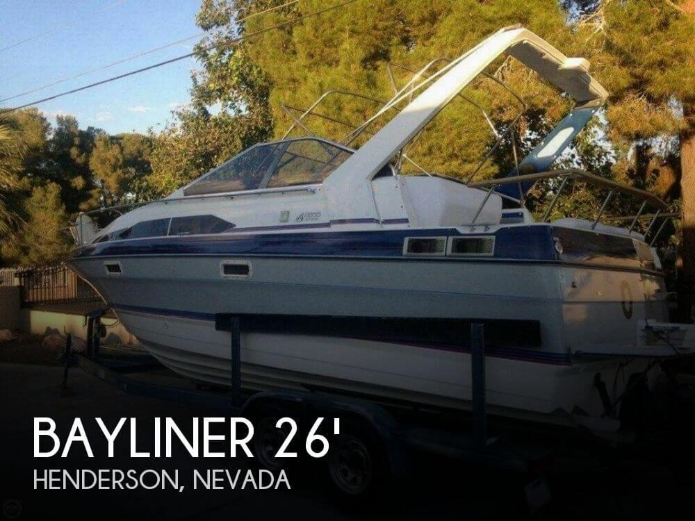 1989 Bayliner 2655 Sunbridge - Photo #1