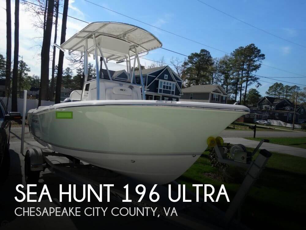 Sea hunt 196 ultra for sale in chesapeake va for 35 000 for Hunt fish va
