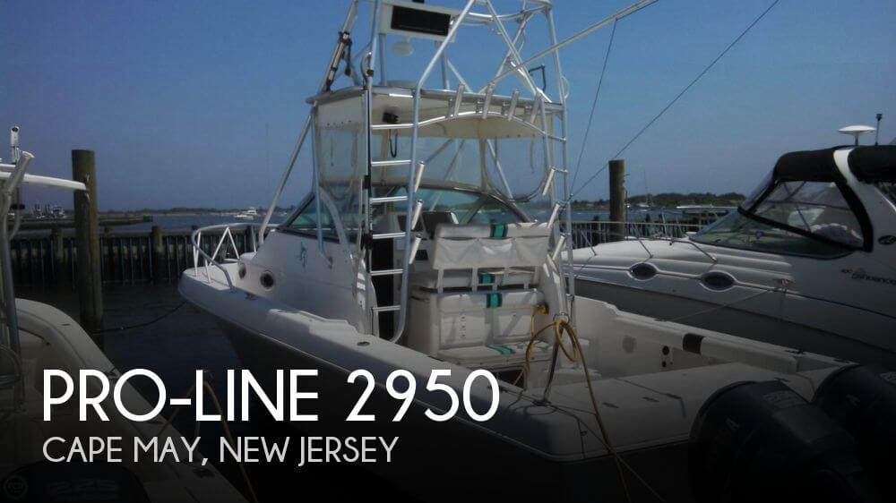 Pro line 2950 for sale in cape may nj for 37 900 pop for Fishing boats for sale nj