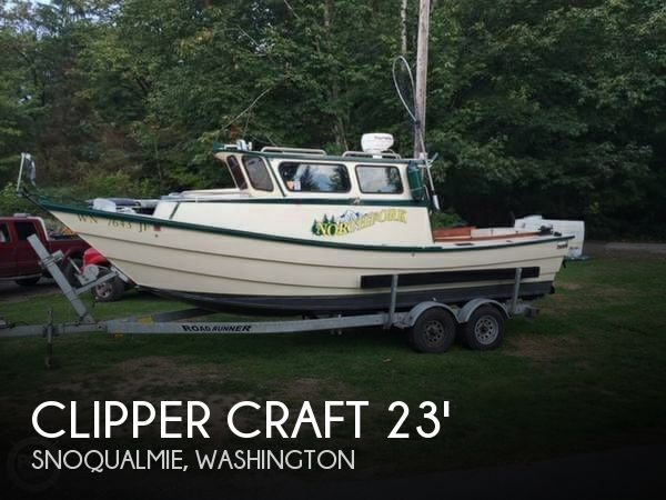 1974 CLIPPER CRAFT 23 DORY for sale