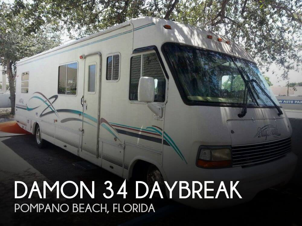 2000 Damon 34 Daybreak Rv For Sale In Florida Rvs Forsale Com