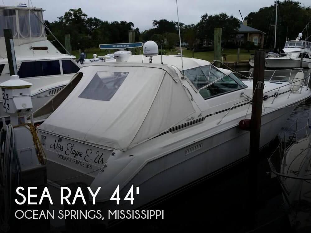 1995 Sea Ray 440 Sundancer - Photo #1