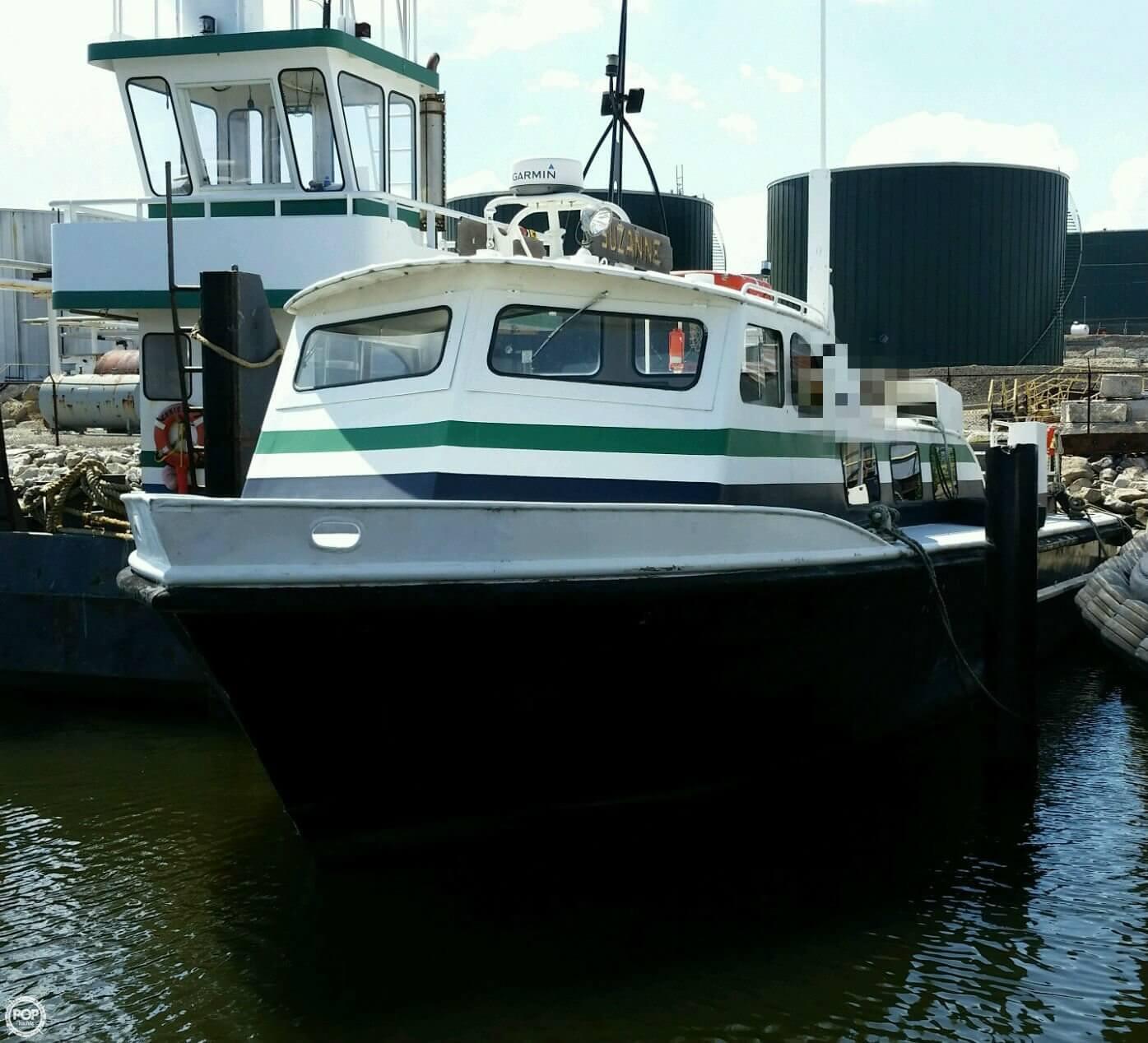 1974 Breaux 46 Crewboat