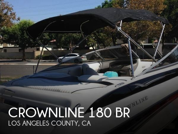 Used Crownline Boats For Sale in California by owner | 2006 Crownline 180 BR
