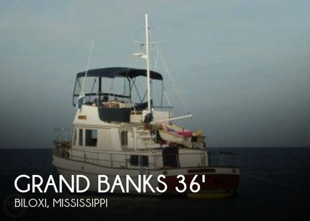 1982 GRAND BANKS 36 TRAWLER for sale
