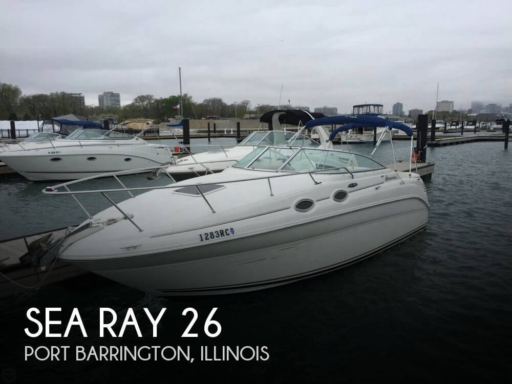 Used Sea Ray Boats For Sale in Illinois by owner | 2002 Sea Ray 26