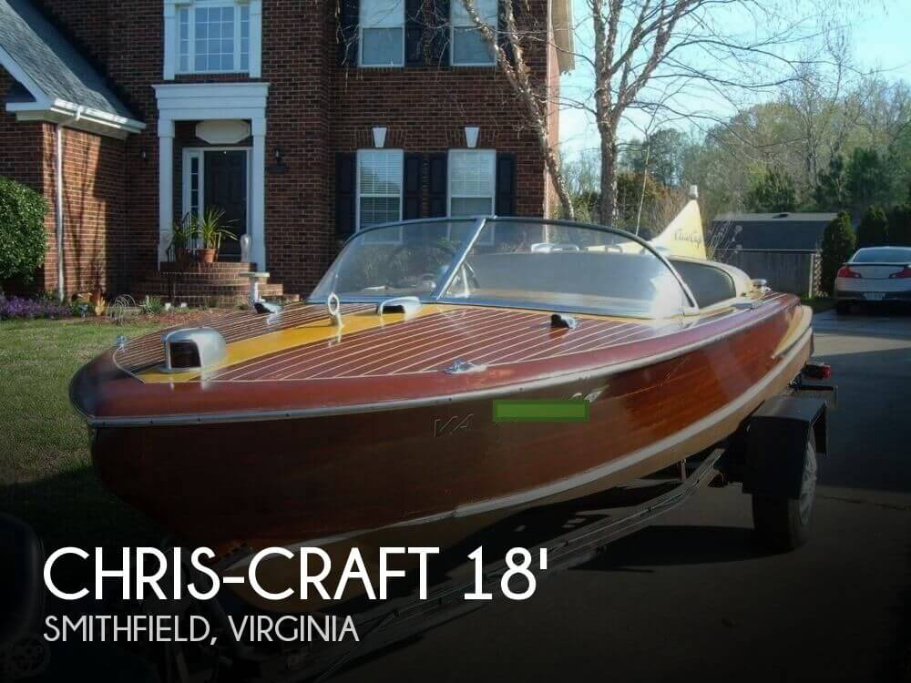 1955 Chris-Craft 18 Cobra - Photo #1