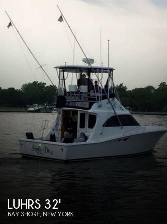 Used Fishing boats For Sale in New York by owner | 1993 Luhrs 32