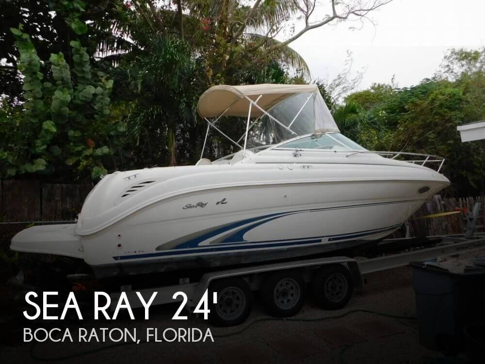 2000 Sea Ray 245 Weekender - Photo #1