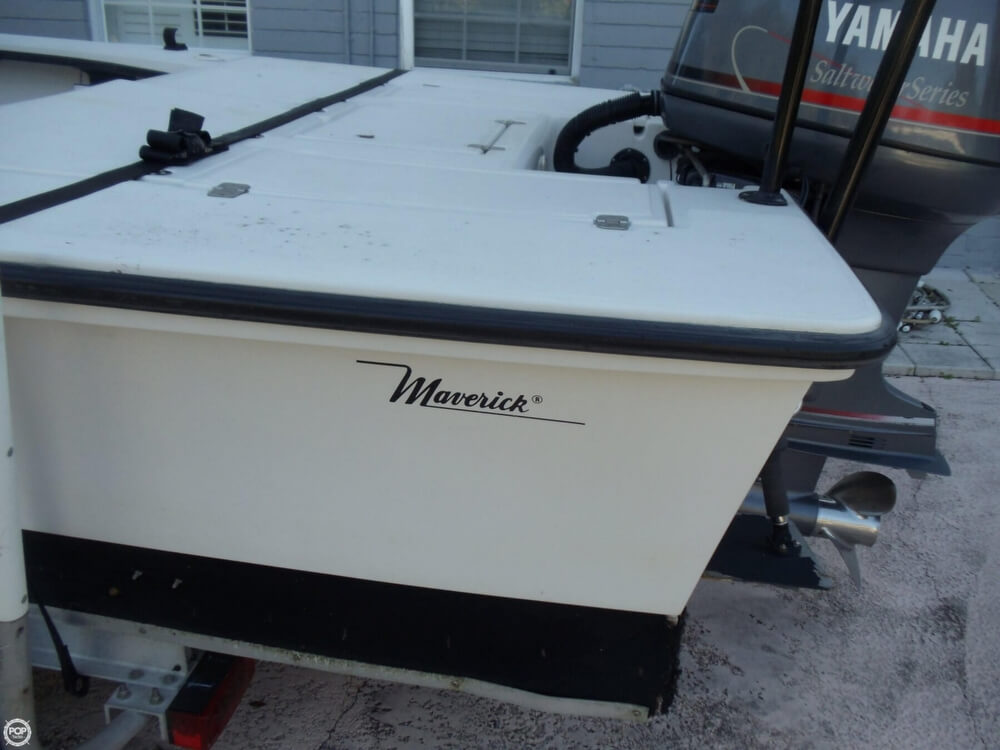 1997 Maverick Master Angler 17 - Photo #21
