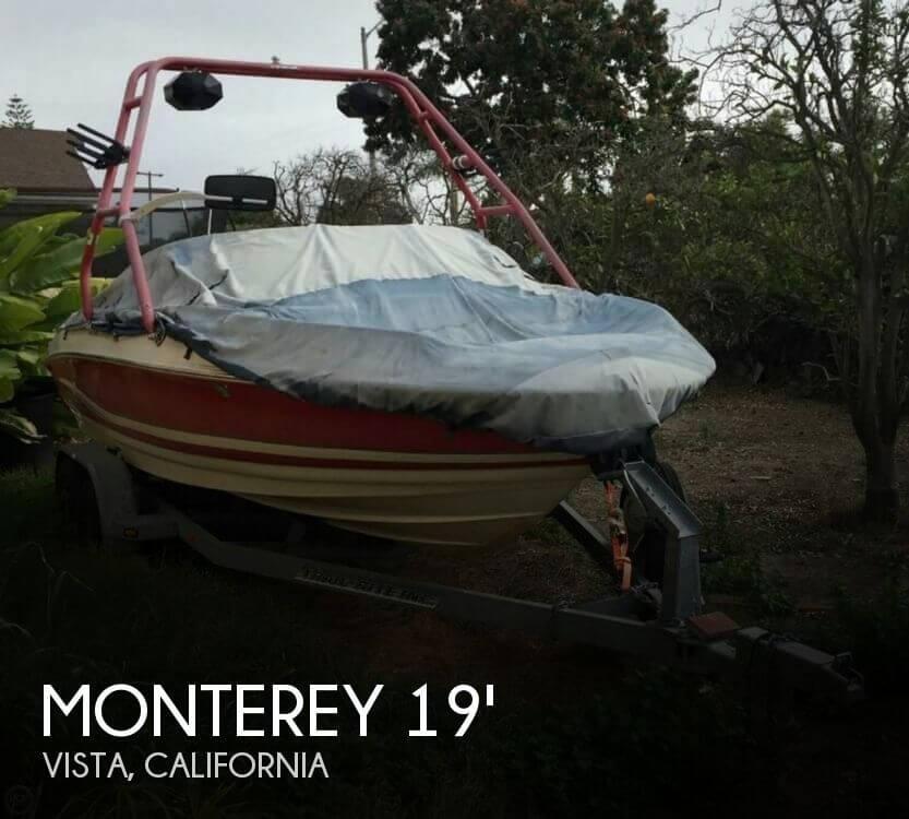 2001 Monterey 190 LS Bowrider - Photo #1