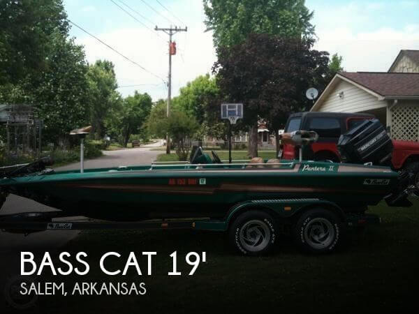 Used Bass Cat Boats For Sale by owner | 1994 Bass Cat 19