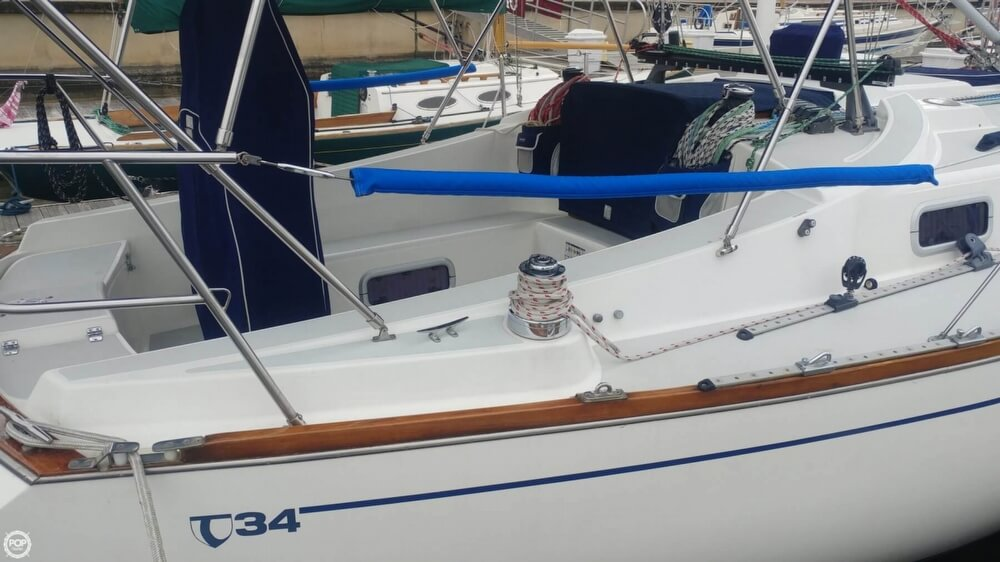 1990 Tartan boat for sale, model of the boat is 34-2 & Image # 2 of 40