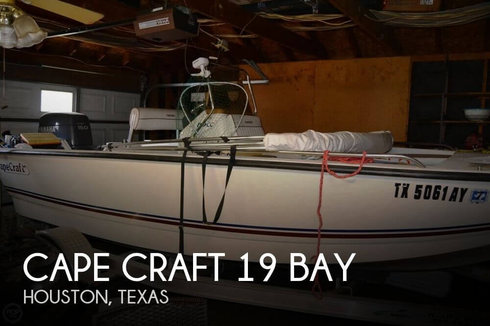 Sold cape craft 19 bay boat in houston tx 094885 for Outboard motors for sale houston