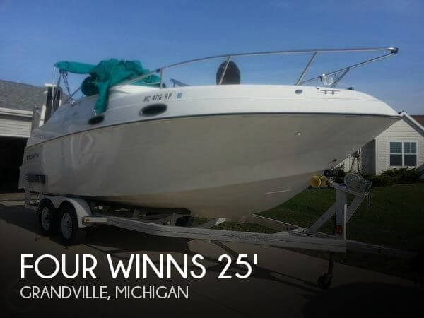 Used FOUR WINNS Boats For Sale in Michigan by owner | 1997 Four Winns 25