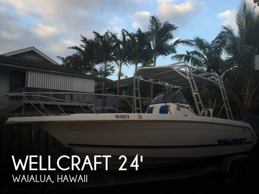 Used Wellcraft 24 Boats For Sale by owner | 1997 Wellcraft 24 Offshore Center Consol