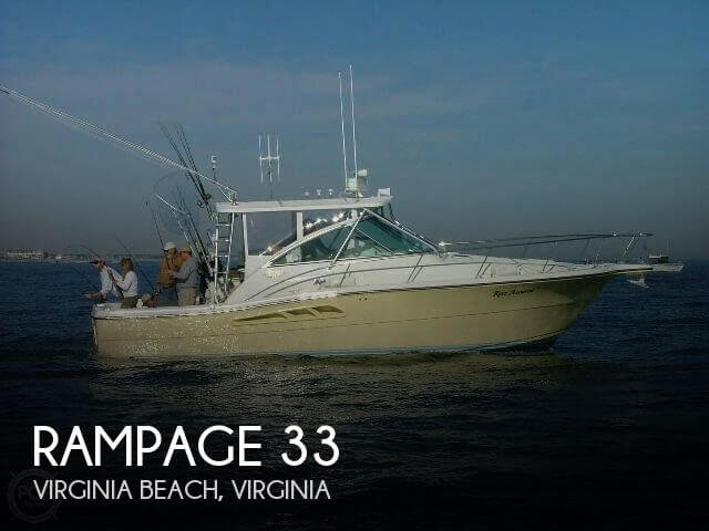 Used Rampage Boats For Sale by owner | 2005 Rampage 33