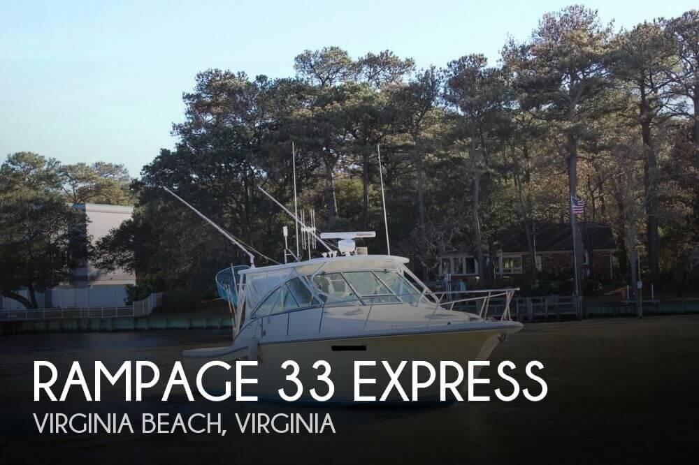 2005 Rampage 33 Express - Photo #1