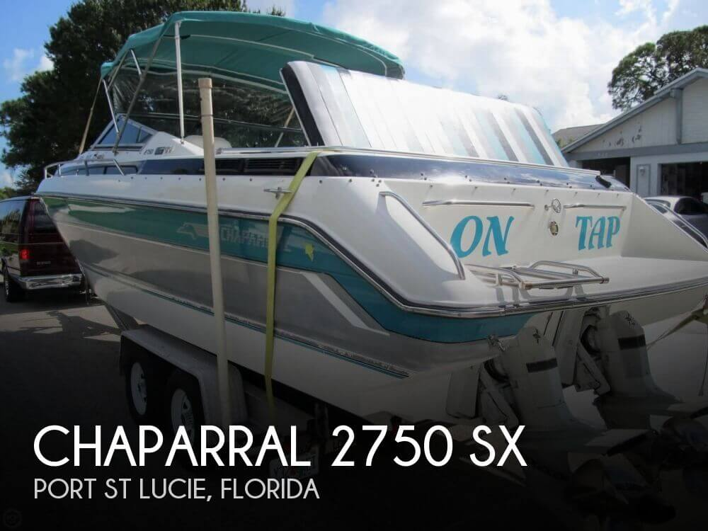 Used Chaparral 27 Boats For Sale by owner | 1990 Chaparral 27