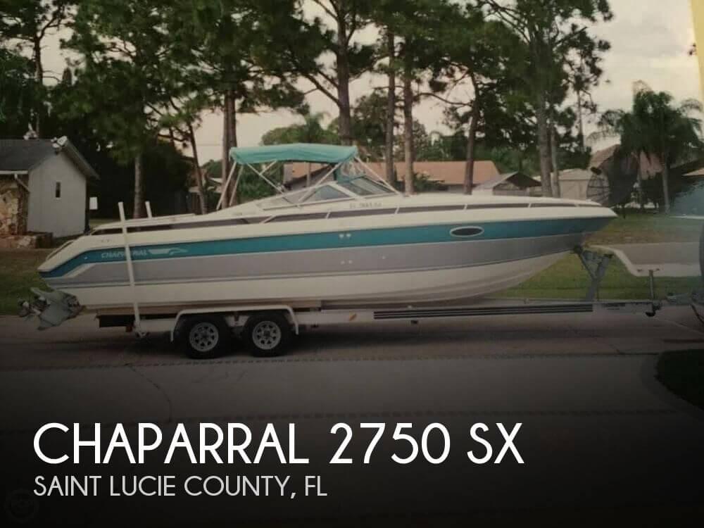 1990 Chaparral 2750 SX - Photo #1