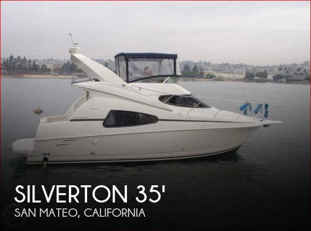 Used Boats For Sale in San Jose, California by owner | 2002 Silverton 35