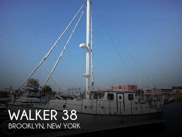 Used Boats For Sale in Philadelphia, Pennsylvania by owner | 1978 Walker 38