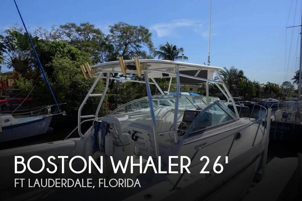 2001 Boston Whaler 26 Conquest - Photo #1