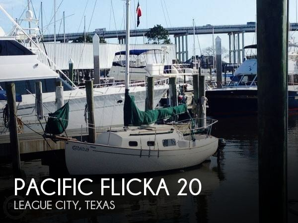 1978 PACIFIC SEACRAFT FLICKA 20 for sale