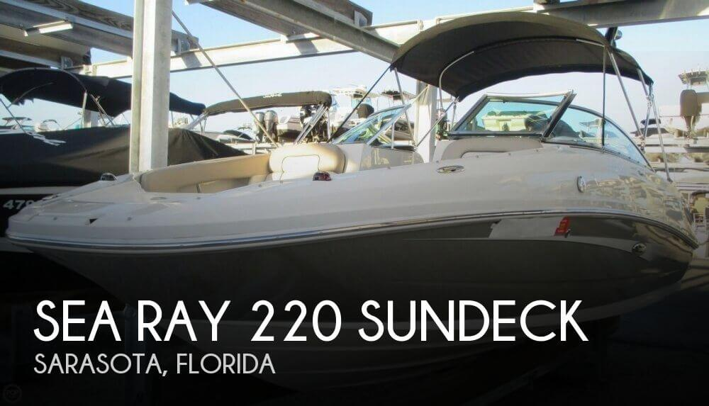 2010 Sea Ray 220 Sundeck - Photo #1