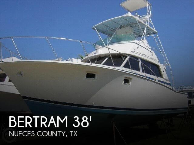Used Fishing boats For Sale in Texas by owner | 1980 Bertram 38