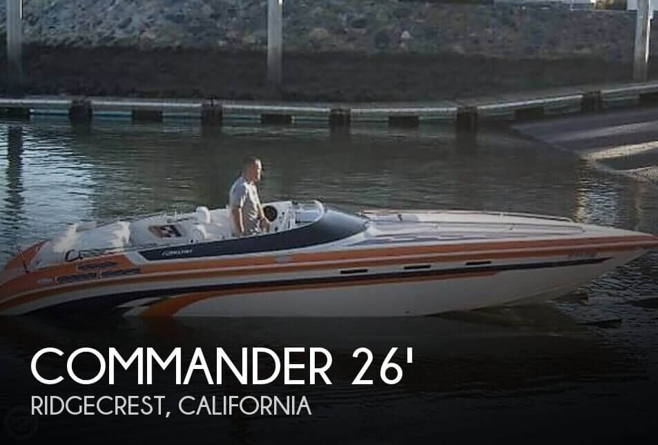 Used Commander Boats For Sale by owner | 1998 Commander 26