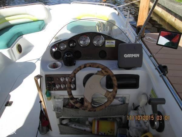 2001 Hurricane Fun Deck GS 201 - Photo #9