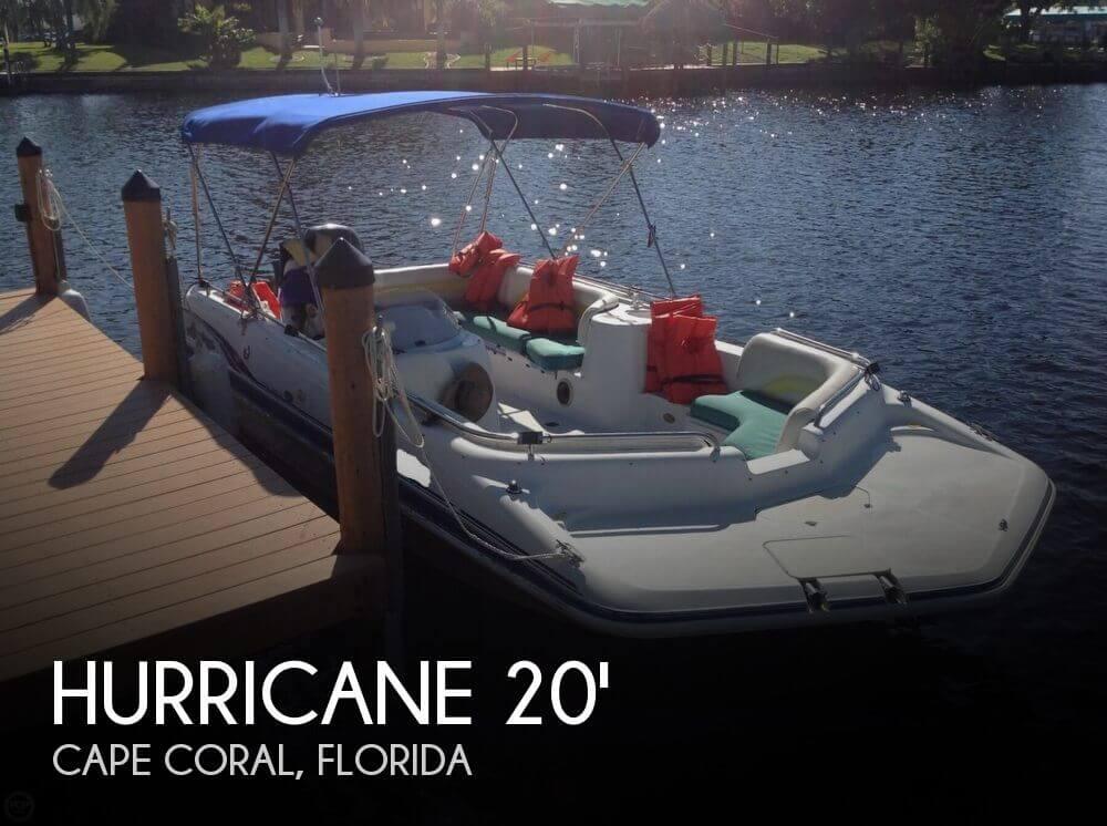 2001 Hurricane Fun Deck GS 201 - Photo #1
