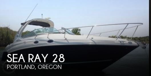 Used Boats For Sale in Oregon by owner | 2008 Sea Ray 28