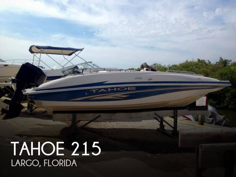 Used Deck Boats For Sale by owner | 2005 Tahoe 21