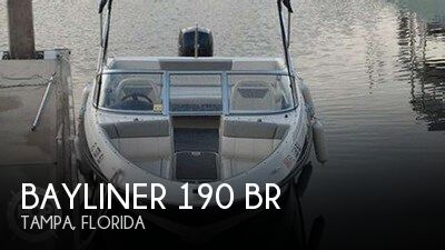 For Sale Used 2013 Bayliner 190 Br In Tampa Florida