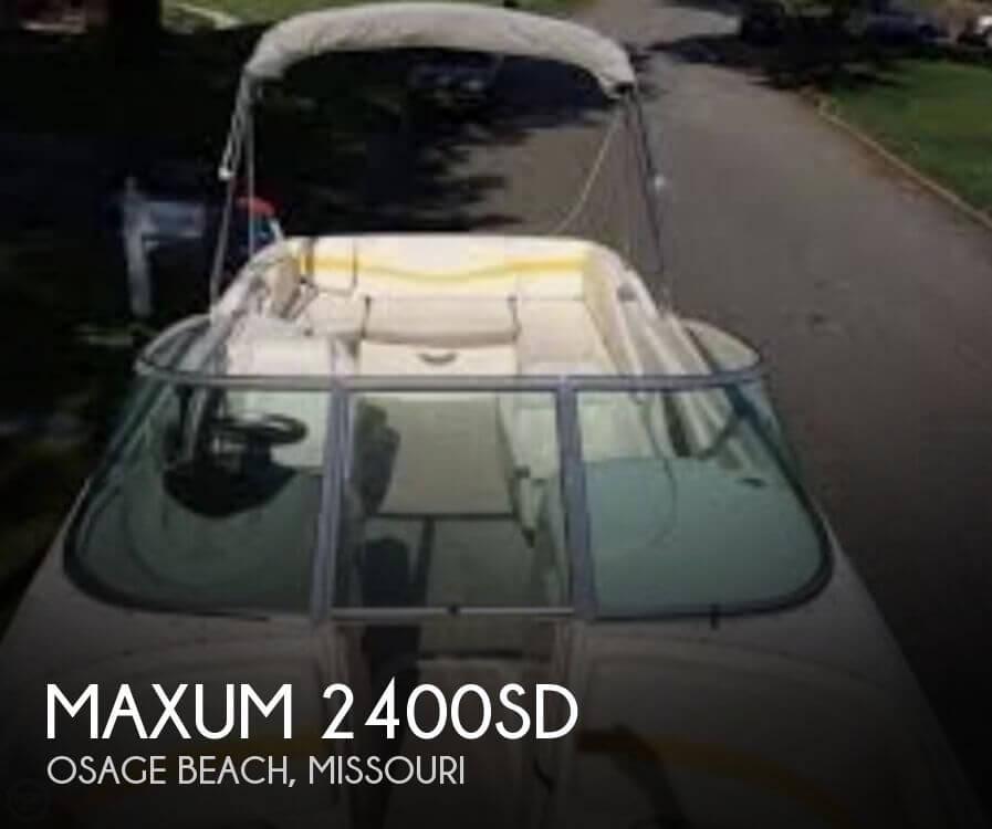 2003 Maxum 2400SD - Photo #1