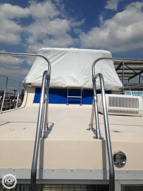 Top Deck For Sunbathing