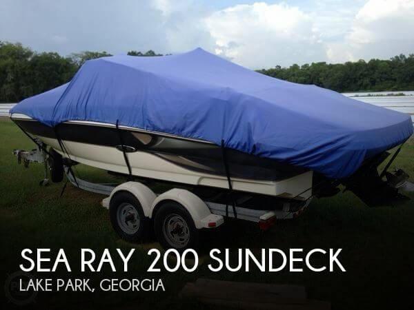 2004 Sea Ray 200 Sundeck - Photo #1