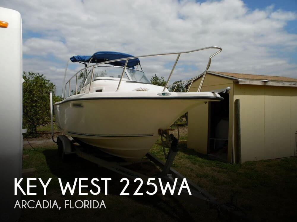 Key west 225wa for sale in arcadia fl for 19 900 pop for Key west fishing boats