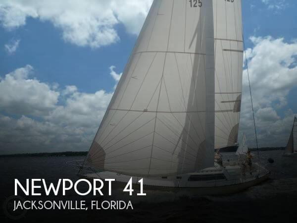 1982 Newport 41 - Photo #1