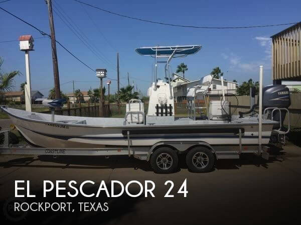 El pescador 24 for sale in rockport tx for 33 400 pop for Stock fish for sale texas